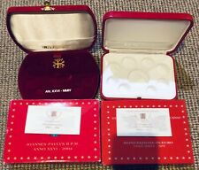 2 Boîtes à Monnaie Vatican