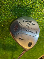 "Callaway S2H2 Big Bertha 2 Wood Steel Shaft Memphis 10  43"" RH"
