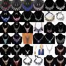Fashion Charm Pendant Chain Crystal Choker Chunky Statement Bib Necklace Jewelry