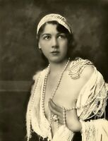 Vintage Nude Photo~Large  Big Breasts Perfect Body Curvaceous Risque Pose, 1900s