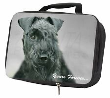 More details for kerry blue terrier 'yours forever' black insulated school lunch box , ad-kb1ylbb