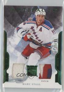 2011-12 Upper Deck Artifacts Emerald Jersey/Patch /65 Marc Staal #73 Patch