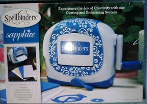 NEW Spellbinders Brand new Sapphire spellbinders cutting and embossing system.