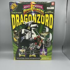 Bandai Power Rangers Deluxe Dragonzord & Green Ranger Toy