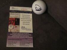Paige Spirianic SIGNED Titleist Golf Ball Pro V1 JSA COA LPGA photo sexy womens