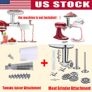 For Kitchenaid Fruit Vegetable Strainer Tomato Juicer & Meat Grinder Attachment