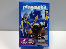 Playmobil 5758 Medieval Castle Lion Knight with Cannon RARE Sealed NIB