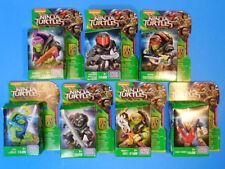 Mega Bloks Teenage Mutant Ninja Turtles Minifigure Lot of 7 Complete Set New