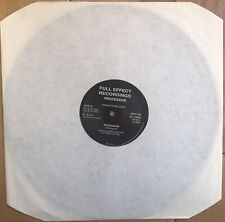 "Professor – Reggarave 12"" Vinyl Old Skool Breakbeat Hardcore Techno Promo EX+"