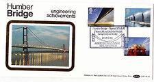 """Benhams.bls 3 1983. ingeniería """"Barton sobre Humber"""" gomígrafo Fdc."""