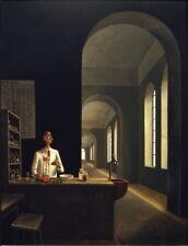 The Chemist : Franz Sedlacek : circa 1932 : Fine Art Print