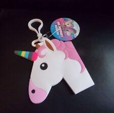 Unicorn Luggage Tag Fashion Unicorn Tag with Pink Mane & White Body *BRAND NEW*