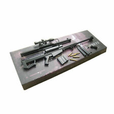 US Stock 1:6 Barrett M82A1 Sniper Rifle Model Weapon Gun Toys W Box