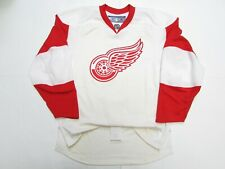 DETROIT RED WINGS AUTHENTIC AWAY PROTOTYPE REEBOK JERSEY SIZE 56 **DAMAGED**