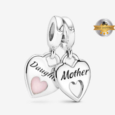 Charms for bracelet, Charms for Bracelet, Mother and Daughter Dangle Charm