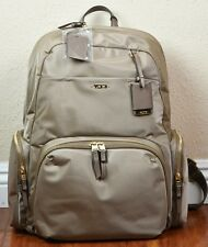 "Tumi 484707KHK Voyageur Calais Nylon Backpack 16"" Travel Laptop Khaki"