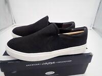 Dr. Scholl's Women's Wander Up Sneaker or boat shoe, Black Snake, 9 M