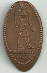 Buffalo Museum Of Science Elongated Penny - Copper