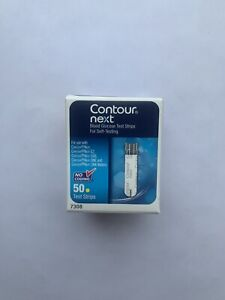 Contour Next Blood Glucose Test Strips 50 EXP late 2022 FAST FREE SHIPPING