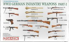 Dragon WWII German Infantry Weapons Part II in 1/35 3816 ST