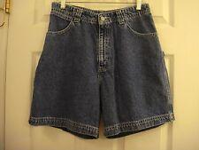Girl's Levi's Carpenter Wide Legs Blue Denim Shorts Size 18 1/2