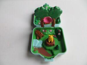 Tomy Nintendo Pokemon Pikachu Polly Pocket Blue Playset Mini 1997 Compacts