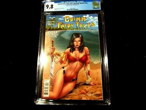 Grimm Fairy Tales 2017 Swimsuit Sp #nn - CGC 9.8 - Reyes Cover A! Highest Grade
