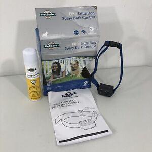 New OPEN BOX! PetSafe Elite Little Dog Spray Bark Control PBC00-11283 Collar