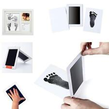 Black Ink Pad Inkpad Rubber Stamp Finger Print-Craft-Non-Toxic Baby Safe fashion