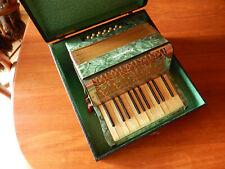Akkordeon 30er 20er Ziehharmonika Koffer 4 Notenhefte Klingwunder Instrument