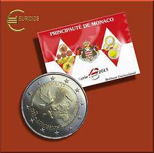 Kursmünzensatz Monaco 2013 BU - 1 Cent - 2 Euro + 2 Euro UNO - im Folder