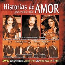 Various Artists : Historias De Amor Para Toda La Vida CD
