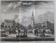 Montelbaanstoren 1726 Amsterdam