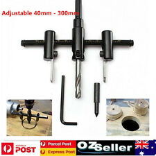 Adjustable Metal Wood Plaster 40-300mm Gyprock Circle Hole Saw Drill Bit Cutter