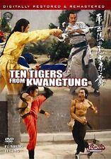 Ten Tigers From Kwangtung Hong Kong Rare Kung Fu Martial Arts Action movie
