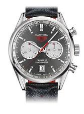 TAG Heuer mechanisch - (automatische) Armbanduhren mit Armband aus echtem Leder