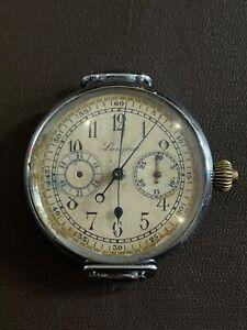 VERY RARE Longines Swiss Chronograph 47mm WORKING MECHANISM