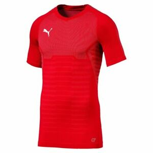 PUMA FINAL EVOKNIT JERSEY Color: Red, New!!!!