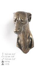 Whippet hängen an einer Wand, Bronze, Art Dog, DE