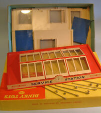 DINKY Meccano England original #785 SERVICE STATION Moulded Kit BOXED 1960 MINT
