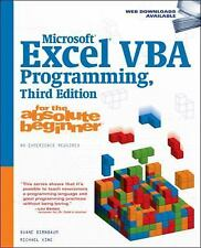 Microsoft Excel VBA Programming for the Absolute Beginner, 3E (For the Absolute