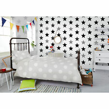 Kids Stars Or Stripes Wallpaper - Choose Colour/Style From Dropdown