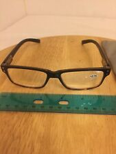 Reading Glasses +2.75 With Spring Loaded Hinges Tortoise Shell
