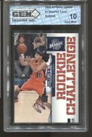 2009-10 Stephen Curry Panini Update #1 Gem Mint 10 RC Rookie Warriors