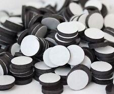 100 Self-Adhesive Dot Round Magnets Craft School 1/2 inch circle