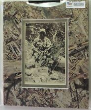 "Mossy Oak Duck Blind Camo Picture Mat, Holds 4"" X 6"" photo"