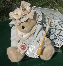"Boyds Bears 15"" Plush ABIGAIL ROSE PRIMSLEY Retired Vintage Teddy 912645 w Tags"