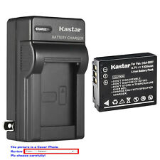 Kastar Battery Wall Charger for Panasonic CGA-S007 & Panasonic LUMIX DMC-TZ4K