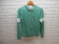 Victoria's Secret Sweatshirt Green Angel Full Zip Size XS