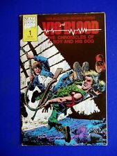 Vic and Blood 1. Richard Corben and Harlan Ellison underground sci fi .